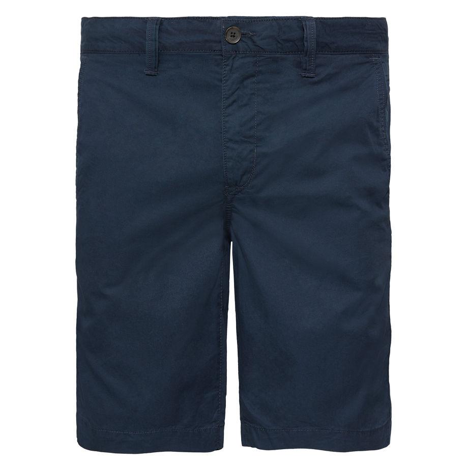 Timberland Men's Squam Lake Chino Shorts Navy Dark Sapphire