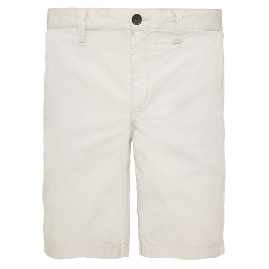 Squam Lake Chino Shorts Heren Zilver | Timberland