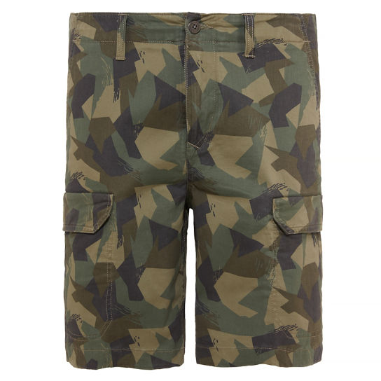 Webster Lake Cargo Shorts Camouflage Heren | Timberland
