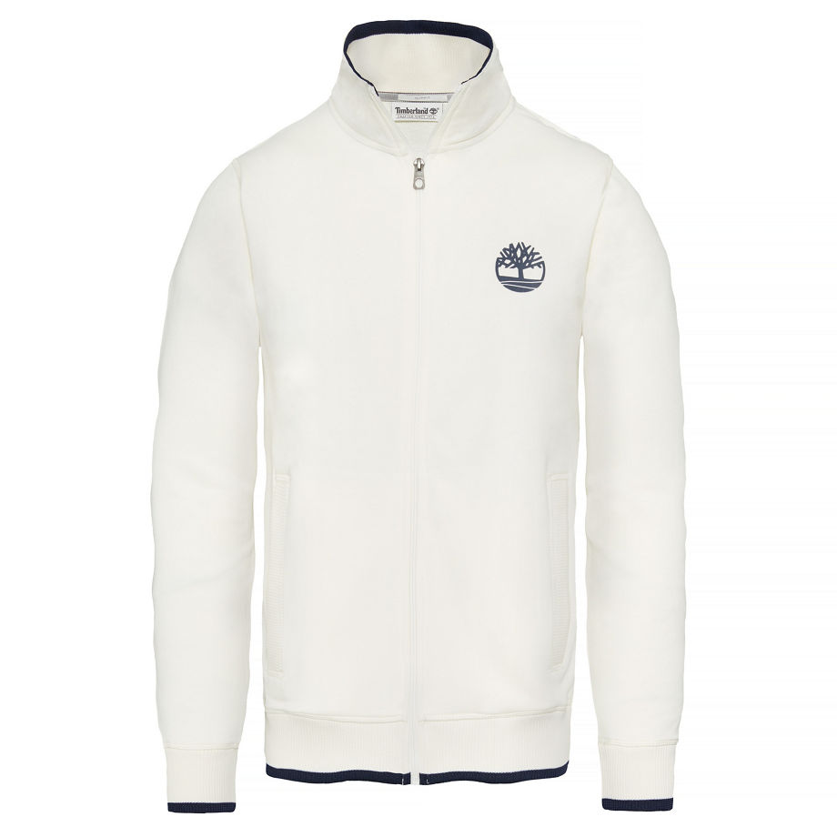 Timberland Men's Westfield River Full-zip Top White Picket Fence, Size M