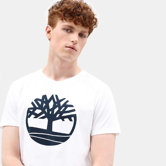 Kennebec River T-shirt voor Heren in wit | Timberland