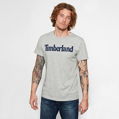Kennebec+River+Logo+T-shirt+voor+Heren+in+Grijs