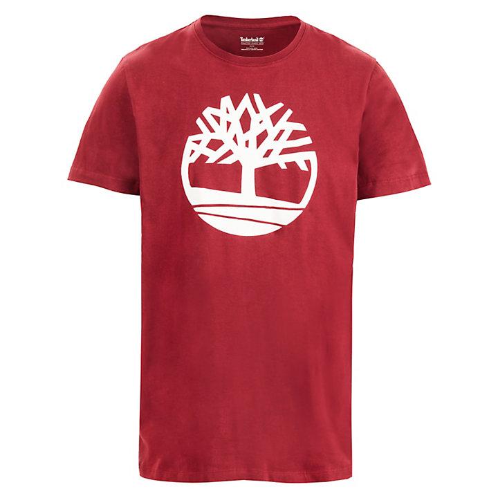 T-shirt Kennebec River pour homme en rouge-