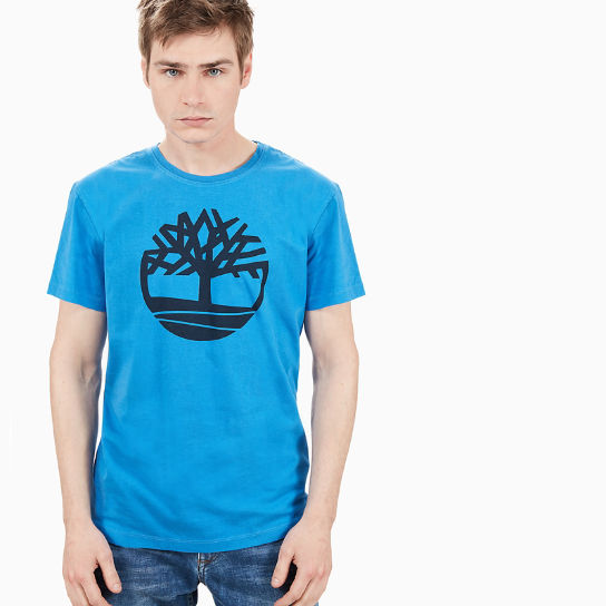Kennebec River Logo T-Shirt for Men in Blue | Timberland
