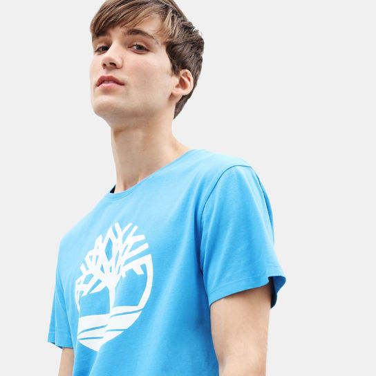 T-shirt da Uomo Kennebec River Tree in blu | Timberland