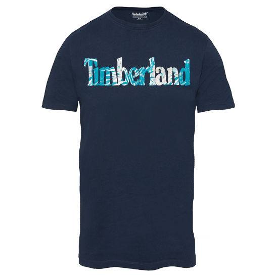 Men's Kennebec River T-Shirt Navy | Timberland