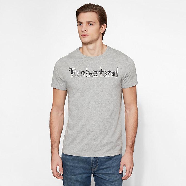 Kennebec River T-shirt Grijs Heren-