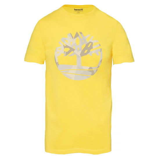 Men's Kennebec River T-Shirt Yellow | Timberland