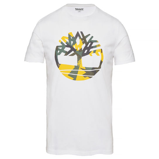 Kennebec River T-Shirt Blanco Hombre | Timberland