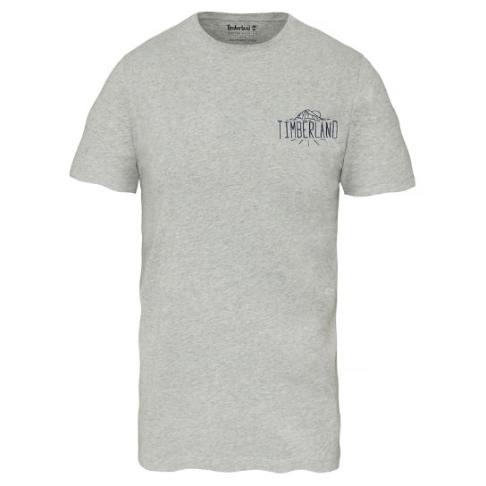 Kennebec River T-Shirt Homme Gris | Timberland