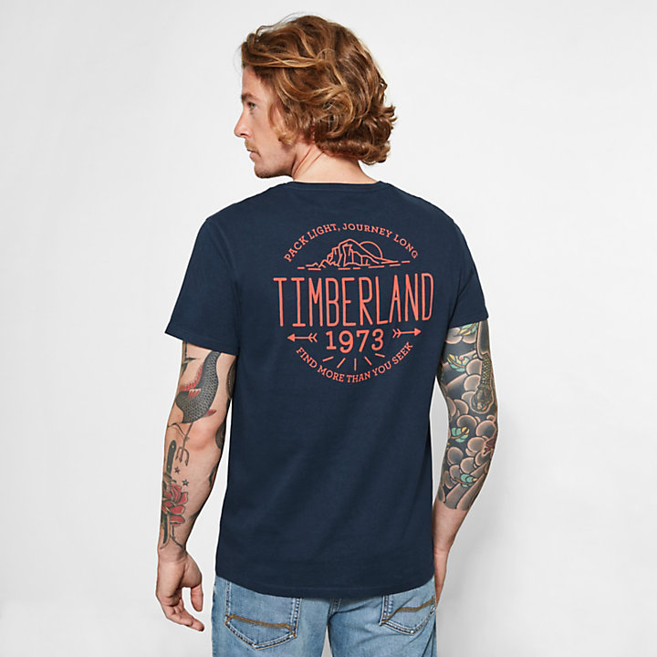 Herren Kennebec River T-Shirt Navyblau-