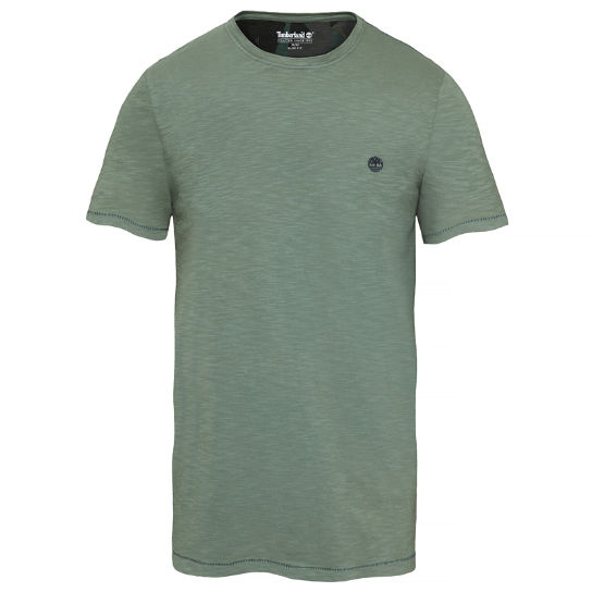 Herren Great Brook T-Shirt Grün | Timberland