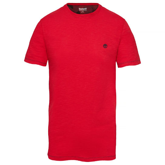 Herren Great Brook T-Shirt Rot | Timberland