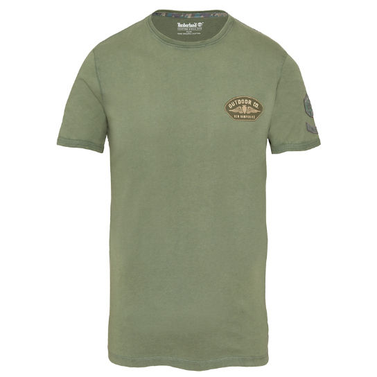 Men's Kennebec River T-Shirt Green | Timberland