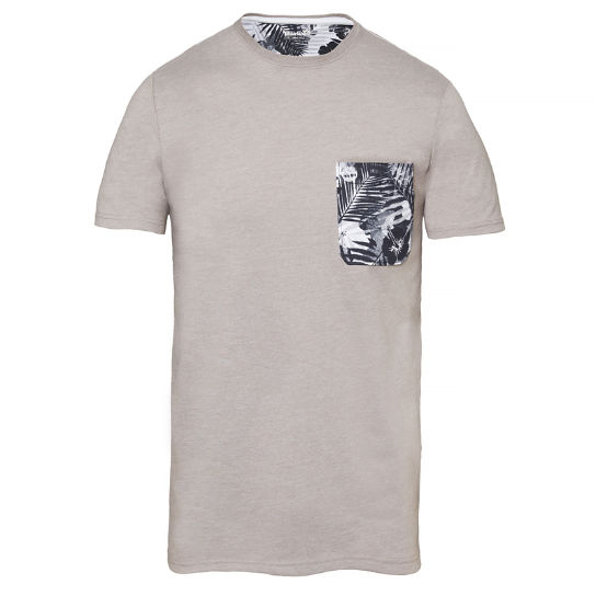 Still River T-shirt Grijs Heren | Timberland