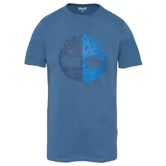 Men's Kennebec River Tree T-Shirt Navy | Timberland