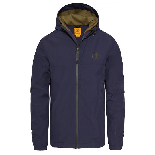 Hooded Shell Top azul medianoche hombre | Timberland