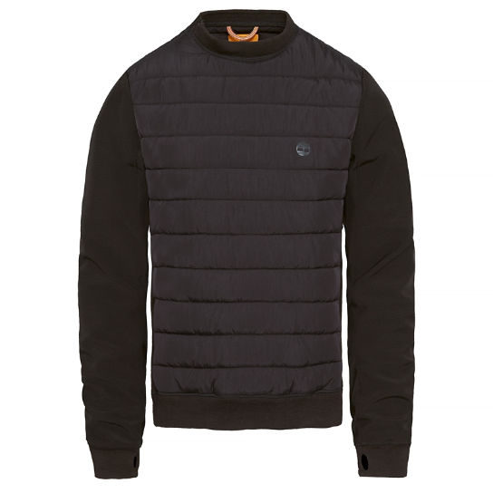 Padded Pullover negro hombre | Timberland