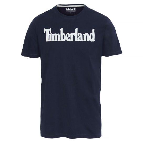 Men's Kennebec River T-shirt Night Blue | Timberland