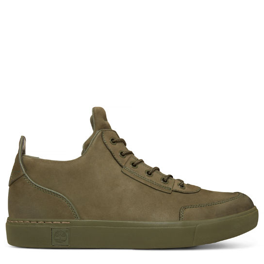 Men's Amherst High Top Chukka Green | Timberland