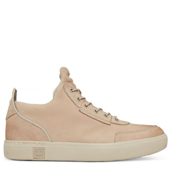 Men's Amherst High Top Chukka Pale Pink | Timberland