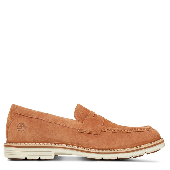 Men's Naples Trail Penny Loafer Medium Brown | Timberland