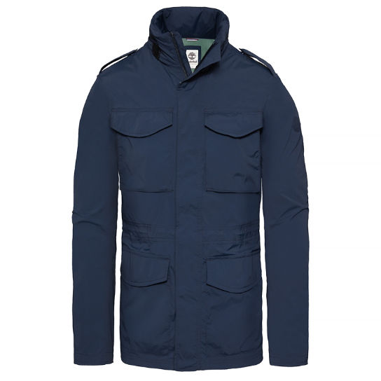 Herren Mount Bigelow Packable Field Jacket Navyblau | Timberland