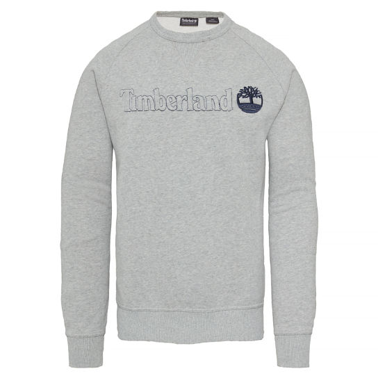 Men's Westfield River Crew Sweatshirt Grey | Timberland