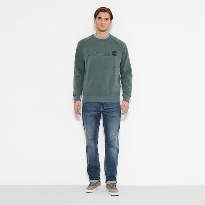 Men's Westfield River Crew Sweatshirt Green-