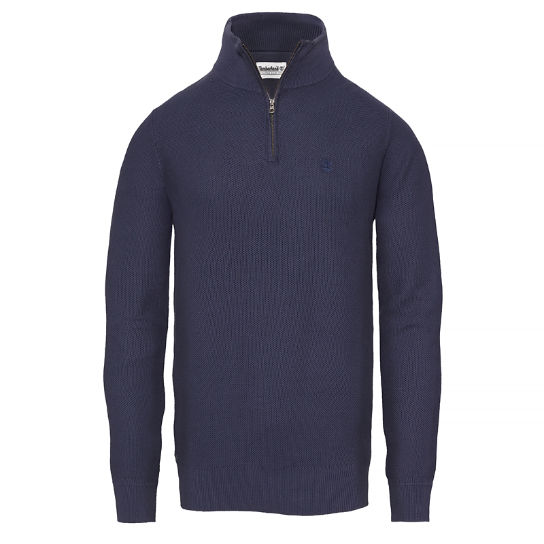 Men's Manhan River Lightweight Sweater Navy | Timberland
