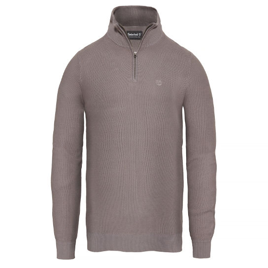 Men's Manhan River Lightweight Sweater Grey | Timberland