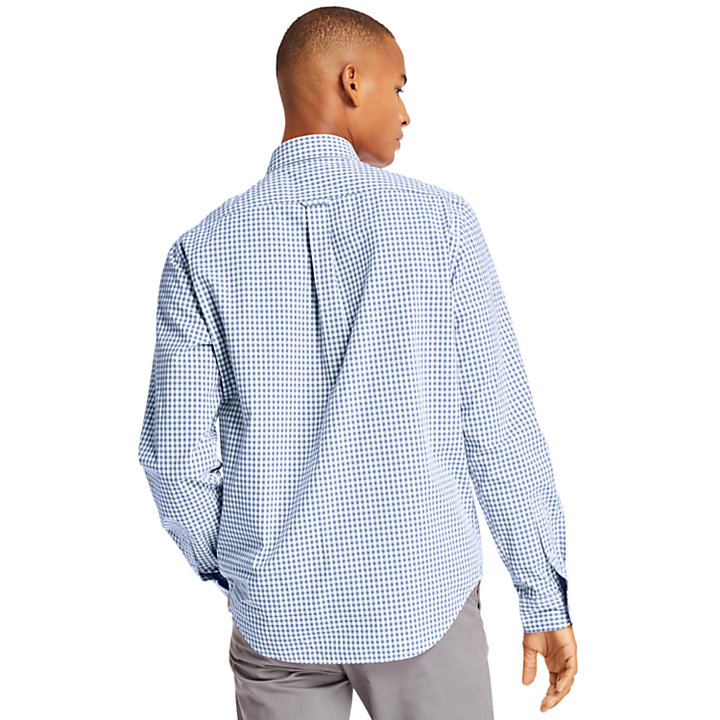 Indian River Gingham Shirt for Men in Blue-