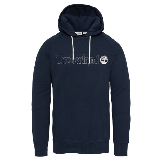 Men's Westfield River Hooded Sweatshirt Navy | Timberland
