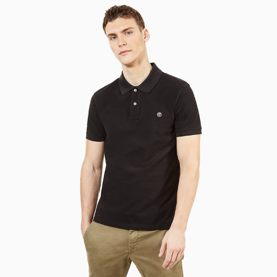 Millers River Polo Shirt Nero MC Uomo | Timberland