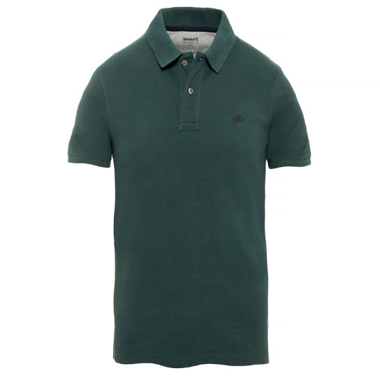 Millers River Polo Shirt verde hombre | Timberland