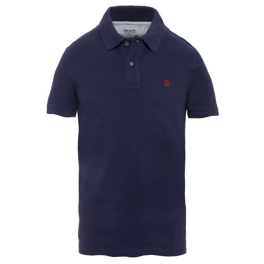 Men's Millers River Polo Shirt Blue | Timberland