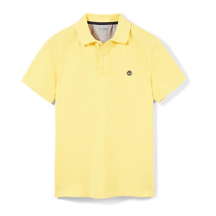 Polo Millers River Corte Justo para Homem em Amarelo-