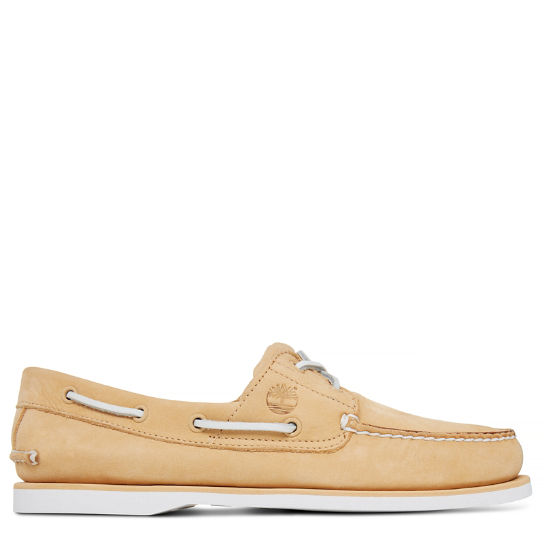 Men's 2-Eye Boat Shoe Yellow | Timberland