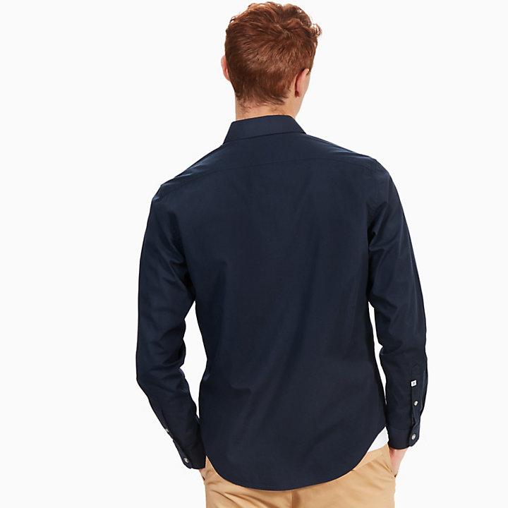 Camicia da Uomo Eastham River Blu Marino-