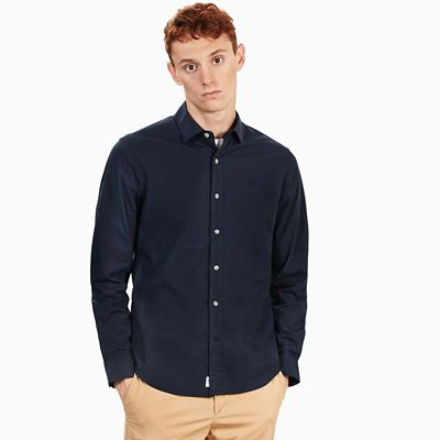 Eastham+River+Shirt+for+Men+in+Navy