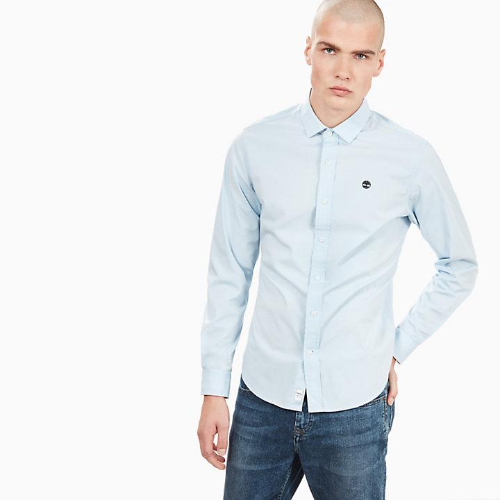 Chemise Eastham River pour homme en bleu-