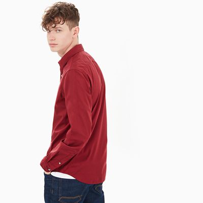 Eastham+River+Shirt+for+Men+in+Red