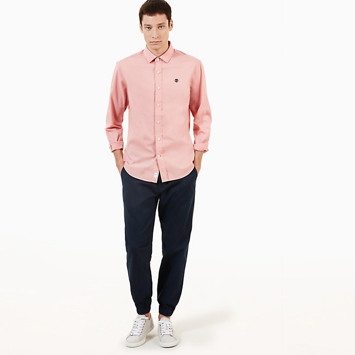 Eastham River Shirt for Men in Pink-
