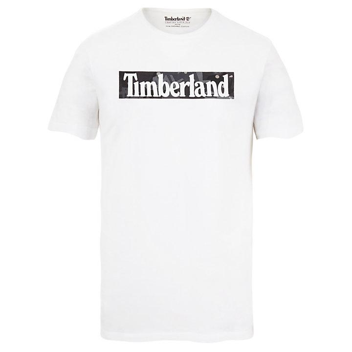 T-shirt imprimé Kennebec River pour homme en blanc-