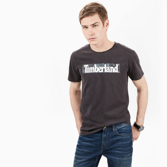 Kennebec River Pattern T-Shirt for Men in Grey | Timberland