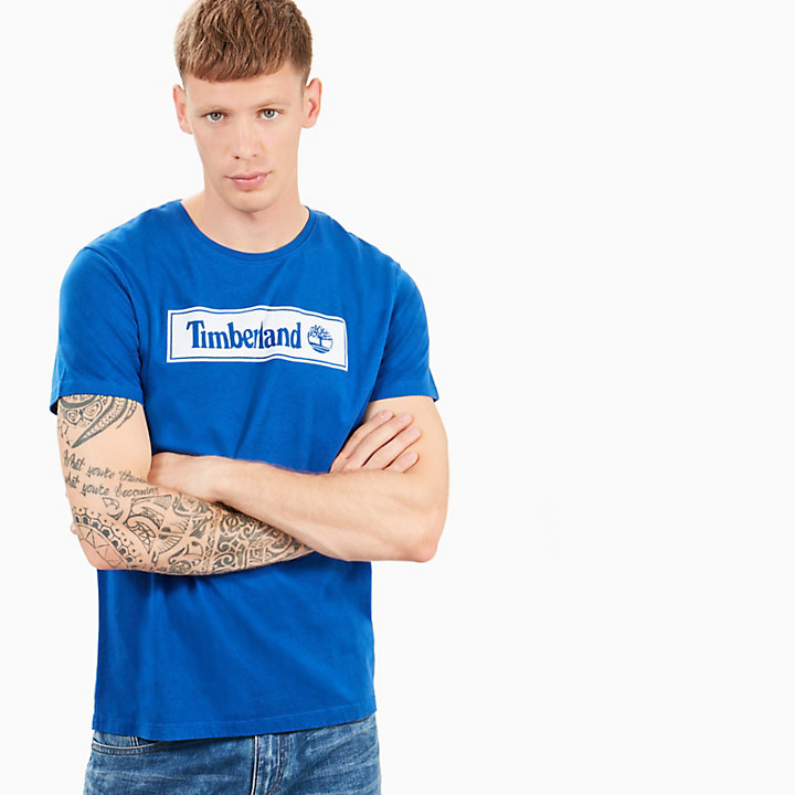 Warner River T-Shirt für Herren in Blau-