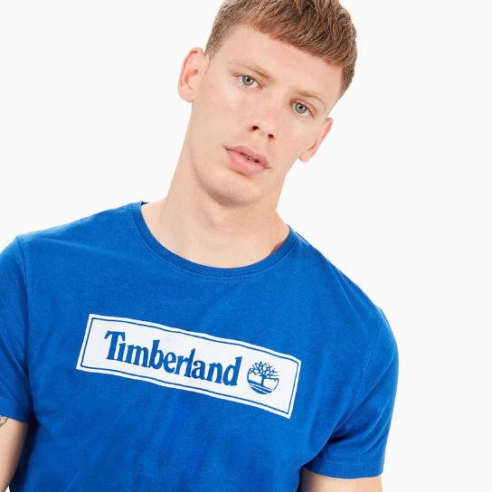 Warner River T Shirt für Herren in Blau