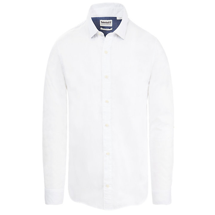 Milford Oxford Shirt for Men in White-