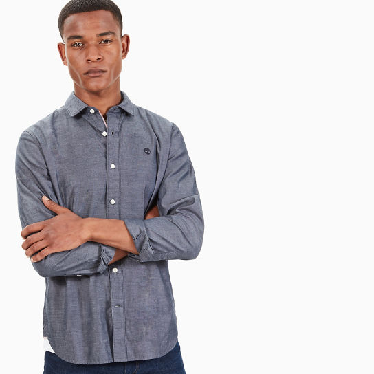 Milford Oxford Shirt for Men in Navy | Timberland