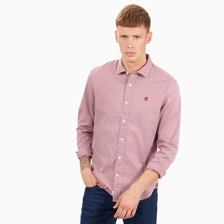 Milford Checked Shirt for Men in Red-